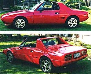 Club Fiat Bertone X1 9 France